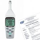 Termohigrometr TM-181 + świadectwo wzorcowania
