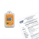 TM-305U Rejestrator temperatury i wilgotności + świadectwo